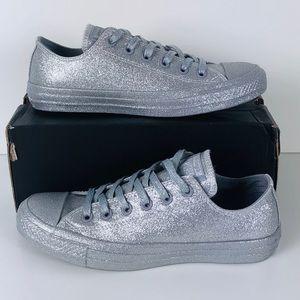 Converse Ctas Ox Glitter Silver/Wolf Unisex
